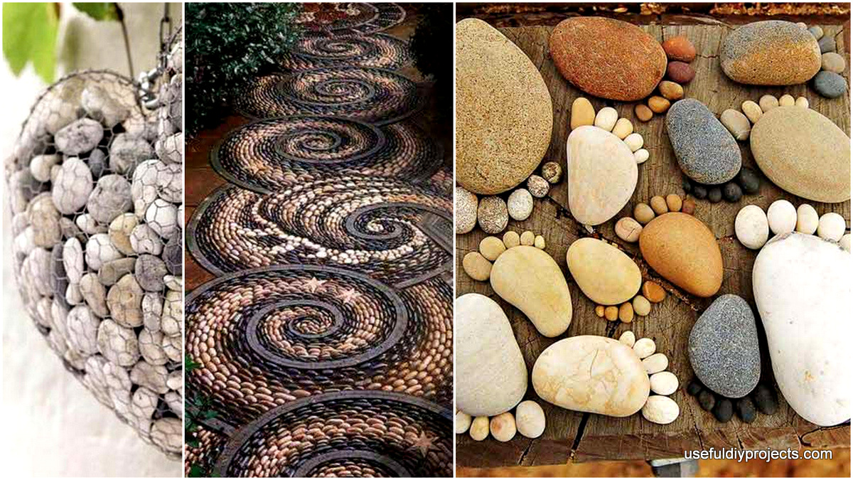 26 diy rock garden decorating ideas of immense beauty for Outdoor decorating with rocks