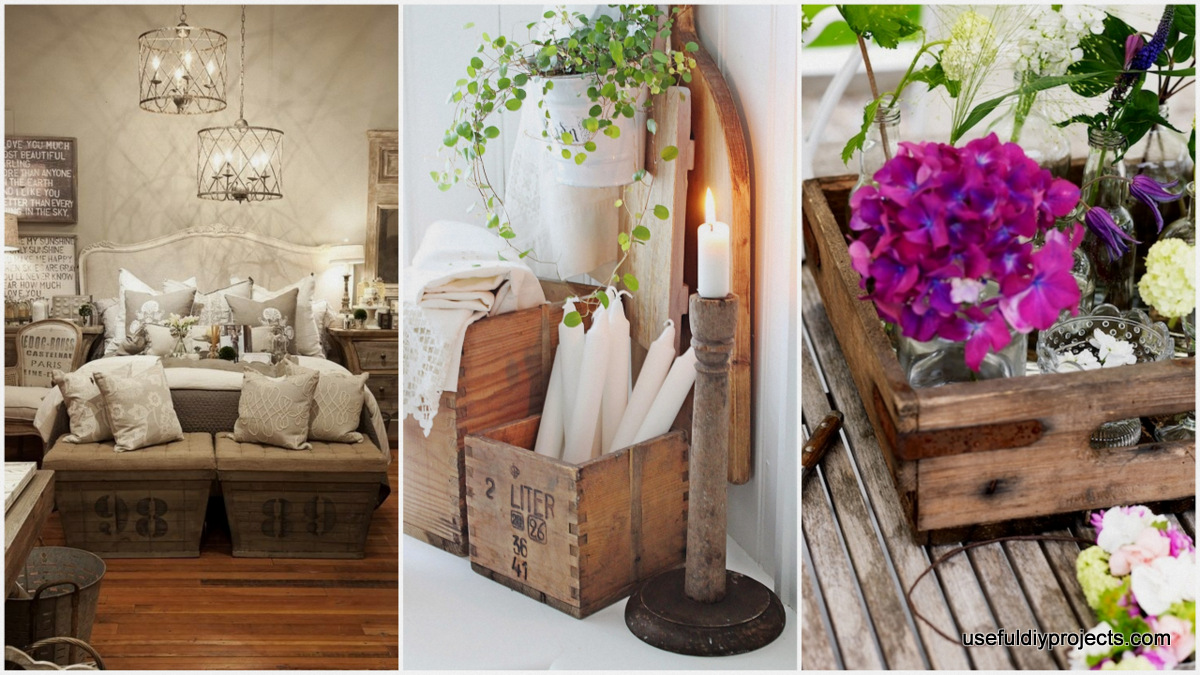 13 creative diy crate crafts to take on useful diy projects for Craft crates