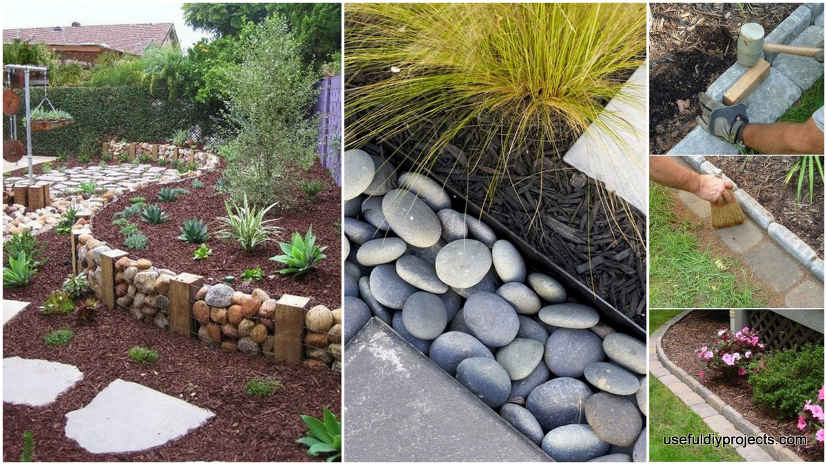 garden edging ideas that will make your garden stand out useful diy