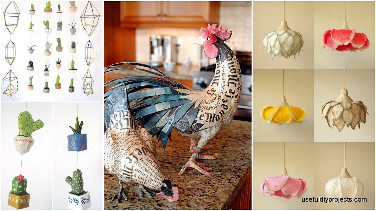 18 paper mache ideas you can use to decorate your home - How to decorate your house ...