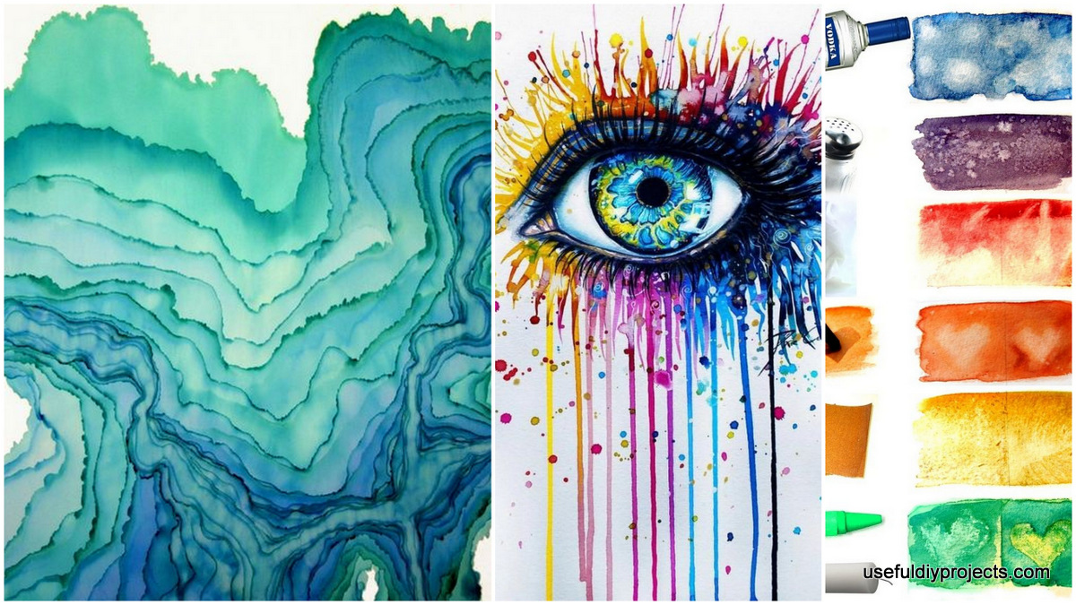 15 Watercolor Painting Ideas You Can Do At Home - Useful DIY Projects