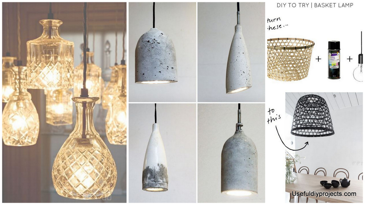 Materialize Fabulous Decor With These 17 DIY Pendant Light