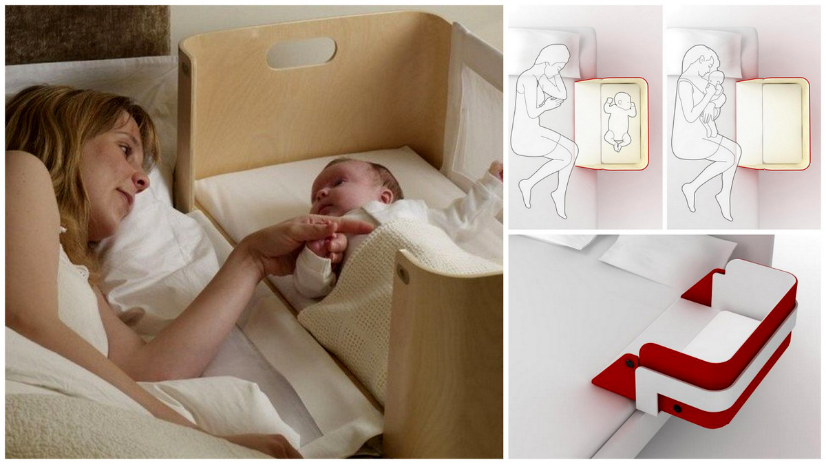 Crib alternatives for babies - The Right Alternative To The Classical Crib The Culla Belly Co Sleeper Useful Diy Projects