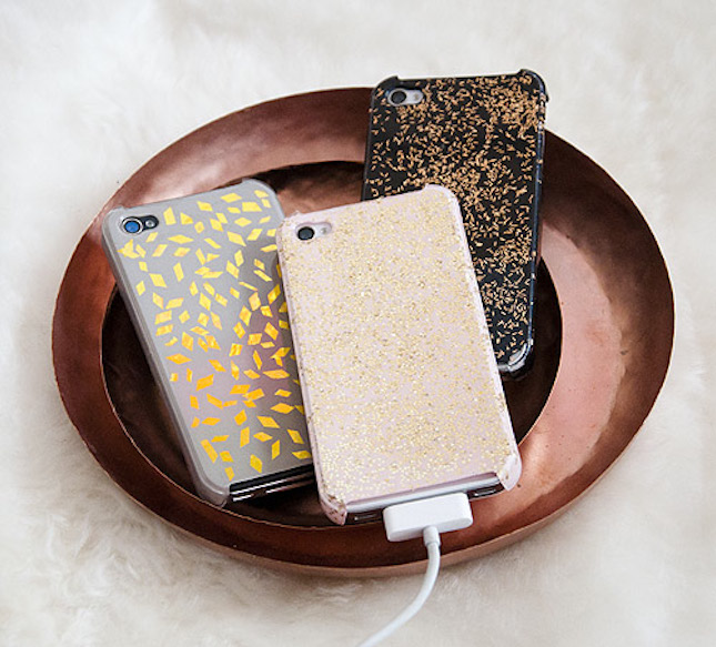 diy glitter projects phone case