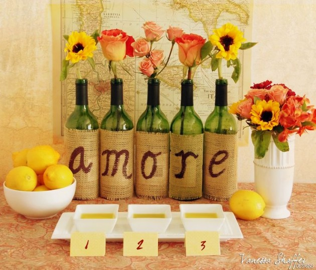 17 Fascinatingly Beautiful DIY Wine Bottle Crafts To Accessorize Your Decor usefuldiyprojects.com 11 - 17 Fascinatingly Beautiful DIY Wine Bottle Crafts To Accessorize Your Decor