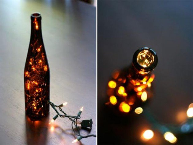 17 Fascinatingly Beautiful DIY Wine Bottle Crafts To Accessorize Your Decor usefuldiyprojects.com 4 - 17 Fascinatingly Beautiful DIY Wine Bottle Crafts To Accessorize Your Decor