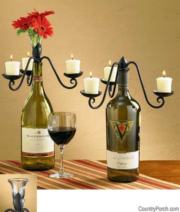 17 Fascinatingly Beautiful DIY Wine Bottle Crafts To Accessorize Your Decor usefuldiyprojects.com 5 - 17 Fascinatingly Beautiful DIY Wine Bottle Crafts To Accessorize Your Decor
