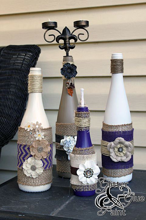 17 Fascinatingly Beautiful DIY Wine Bottle Crafts To Accessorize Your Decor usefuldiyprojects.com 8 - 17 Fascinatingly Beautiful DIY Wine Bottle Crafts To Accessorize Your Decor