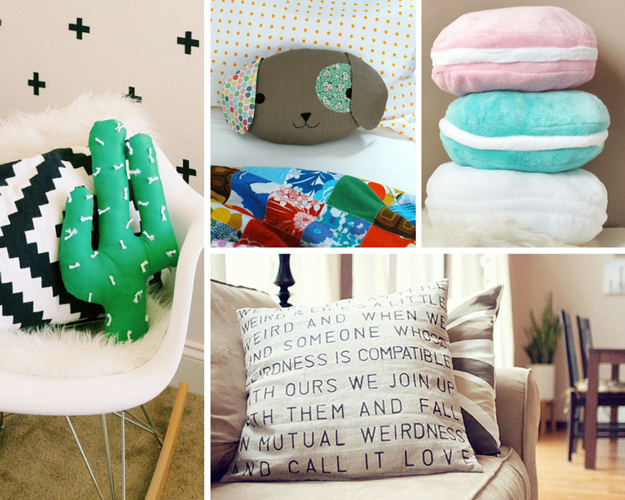 Add Colorful Pillows To Your Couch And Loungers