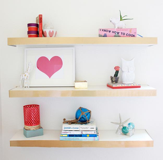 DIY IKEA Hack Floating Shelf