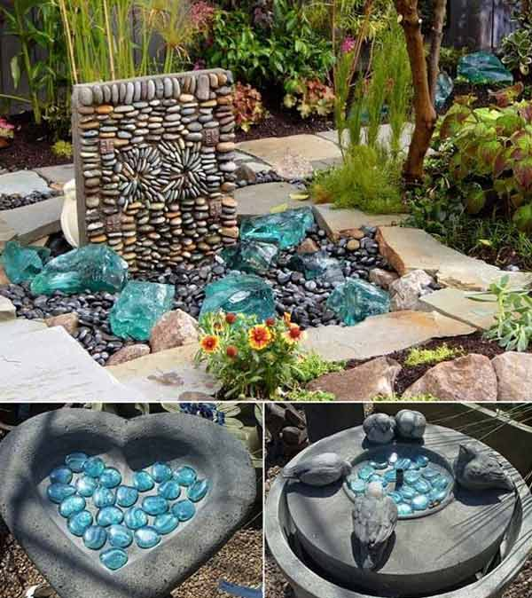 21 Lovely DIY Decor Ideas Emphasized by Creative Pebbles Art  usefuldiyprojects.com crafts (14)