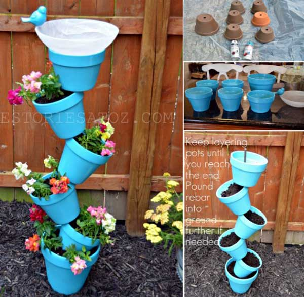 21 Mesmerizing DIY Projects That Will Beautify Your Garden This Summer usefuldiyprojects.com backyard (14)