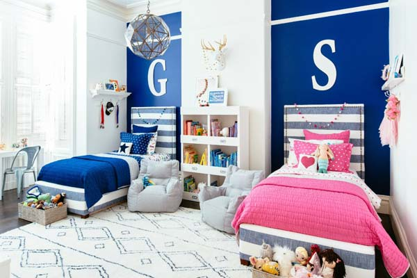 21 Smart and Creative Girl and Boy Shared Bedroom Design Ideas  usefuldiyprojects.com design ideas (1)