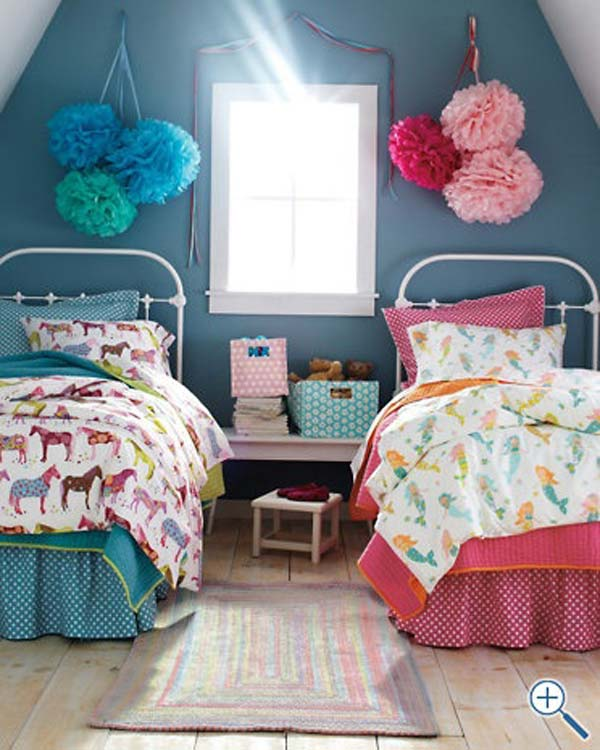 21 Smart and Creative Girl and Boy Shared Bedroom Design Ideas  usefuldiyprojects.com design ideas (14)