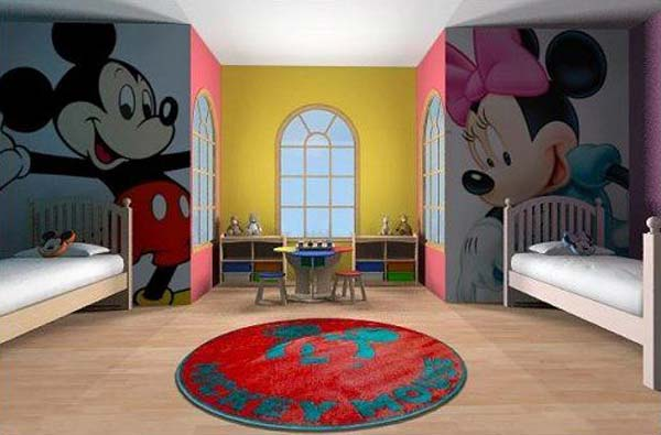 21 Smart and Creative Girl and Boy Shared Bedroom Design Ideas  usefuldiyprojects.com design ideas (4)
