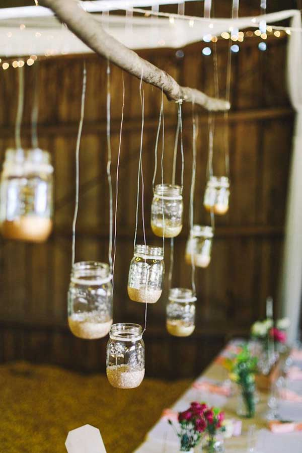 27 Magnificent and Splendid Hanging Mason Jars DIY Projects Beautifying The World usefuldiyprojects.com decor ideas (11)