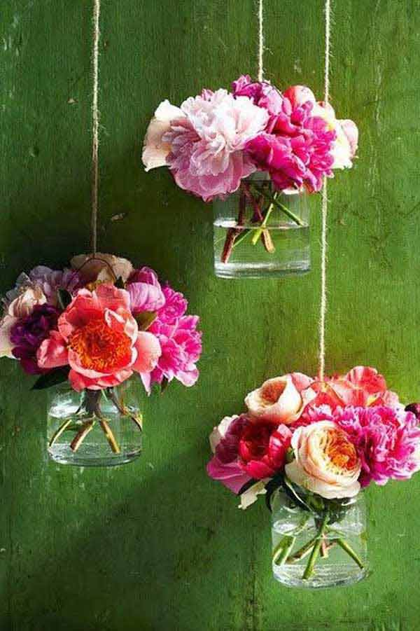 27 Magnificent and Splendid Hanging Mason Jars DIY Projects Beautifying The World usefuldiyprojects.com decor ideas (12)