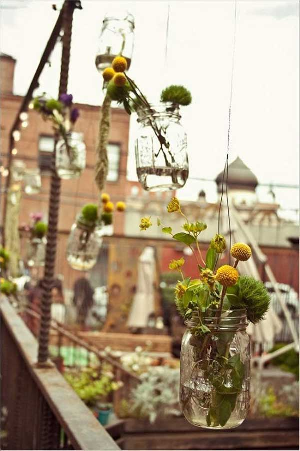 Hanging Mason Jars DIY Projects Beautifying The World