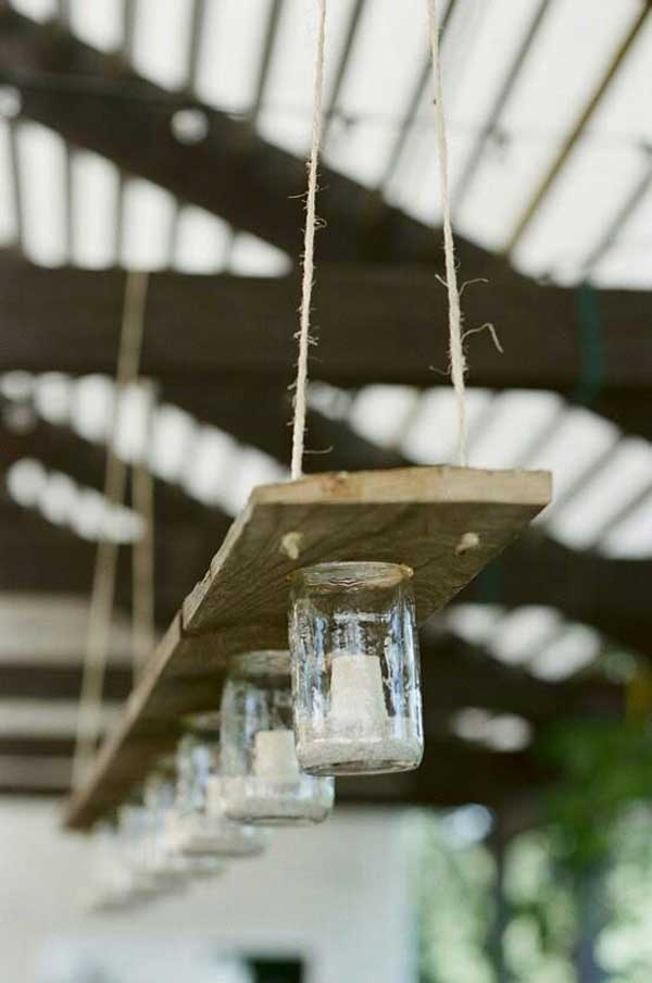27 Magnificent and Splendid Hanging Mason Jars DIY Projects Beautifying The World usefuldiyprojects.com decor ideas (18)