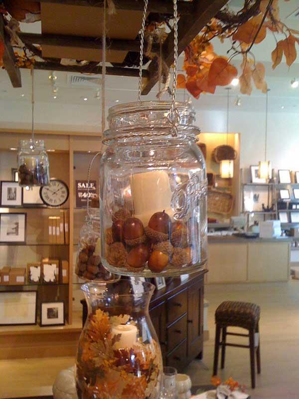 mason jars display