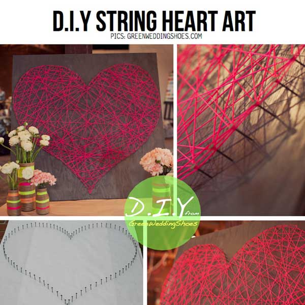 string diy wall art ideas