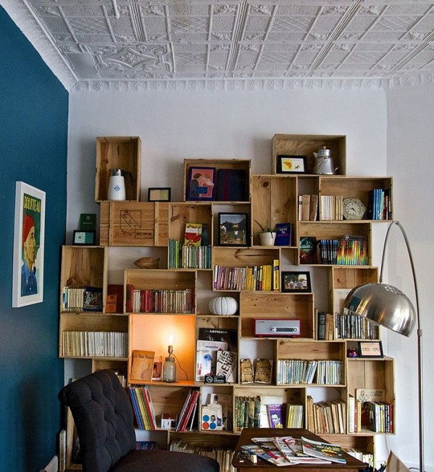 28 Simply Extraordinary Ways to Repurpose Wooden Crates Into Vintage Accessories usefuldiyprojects.com decor (12)