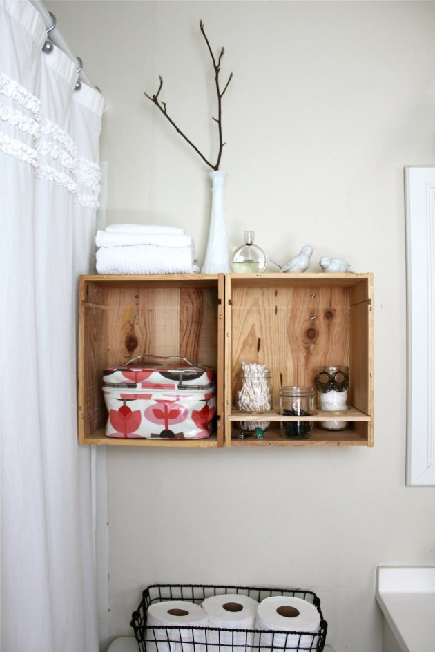 28 Simply Extraordinary Ways to Repurpose Wooden Crates Into Vintage Accessories usefuldiyprojects.com decor (21)