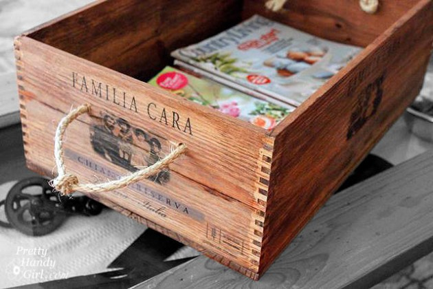 28 Simply Extraordinary Ways to Repurpose Wooden Crates Into Vintage Accessories usefuldiyprojects.com decor (5)