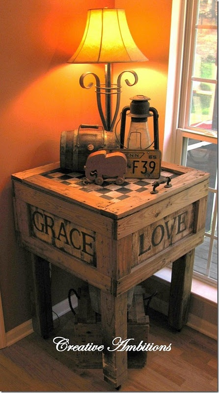 29 Ways to Decorate With Wooden Crates usefuldiyprojects.com decor ideas 7 - 29 Ways To Be Sustainable by Decorating With Wooden Crates