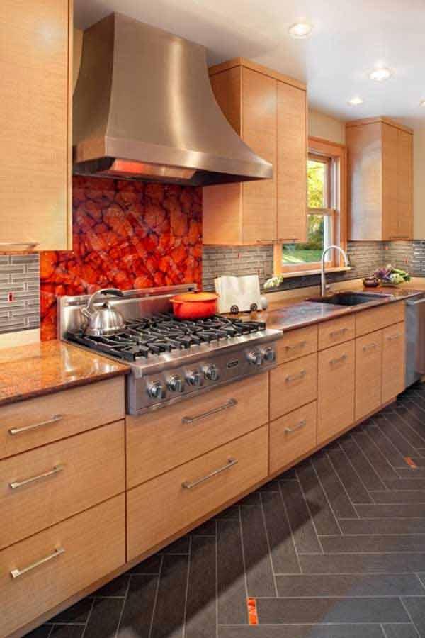 30 Insanely Beautiful and Unique Kitchen Backsplash Ideas to Pursue usefuldiyprojects.com decor ideas (7)