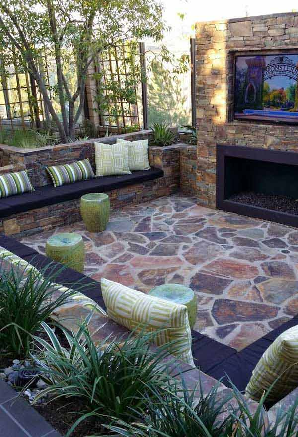 31 Ingeniously Cool Ideas to Upgrade Your Patio This Season usefuldiyprojects.com decor ideas (16)