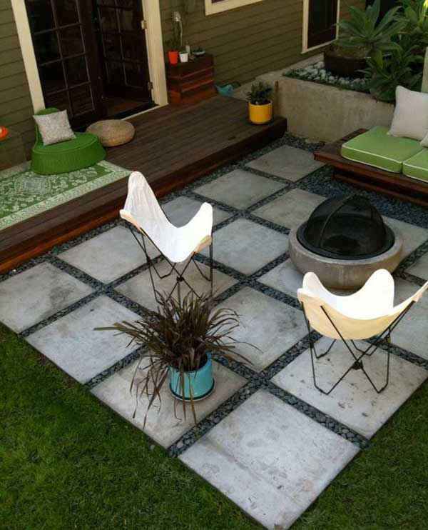 Checkered Patio