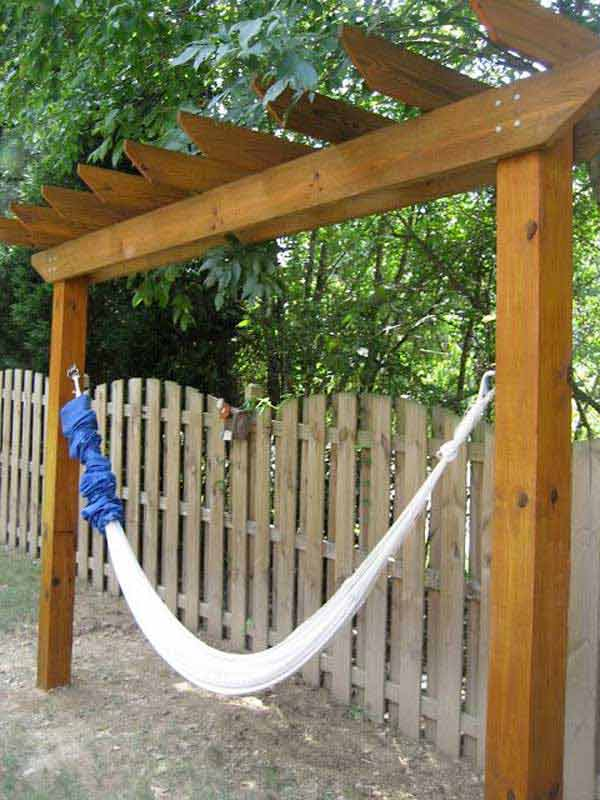 Upgrade Your Patio with this Hammock