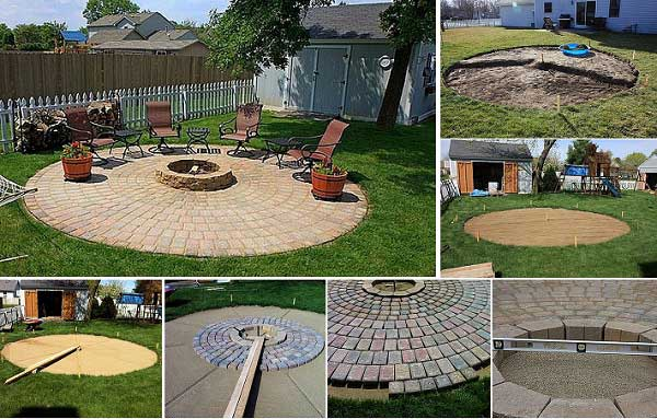fire pit for your patio area