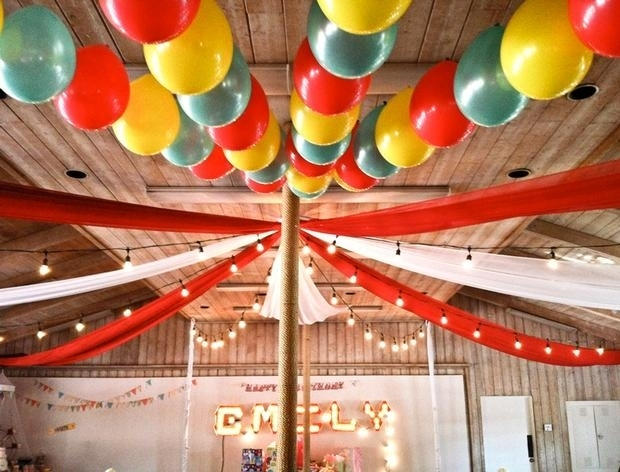 balloons garlands