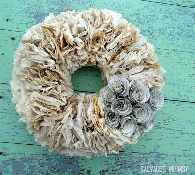 36 Surprisingly Awesome Ways to Use Coffee Filters in DIY Projects usefuldiyprojects.com homesthetics decor (29)