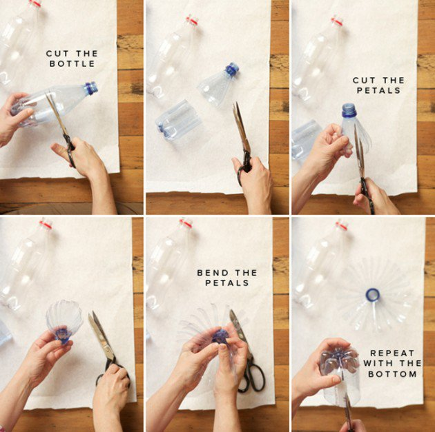 45 Different Ways to Use Plastic Bottles Into Sustainable DIY Crafts usefuldiyprojects.com decor ideas (13)