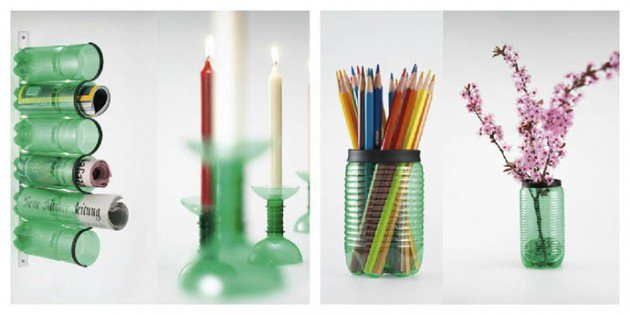45 Different Ways to Use Plastic Bottles Into Sustainable DIY Crafts usefuldiyprojects.com decor ideas (35)