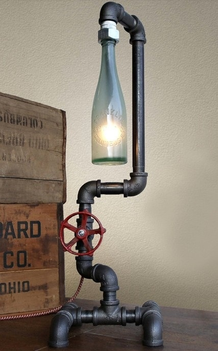 Bottle Lamps Ideas 10 - Get Creative With Wonderful DIY Bottle Lamps Ideas And Projects
