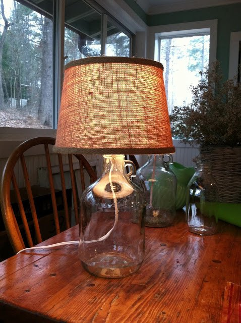 Bottle Lamps Ideas 14 - Get Creative With Wonderful DIY Bottle Lamps Ideas And Projects