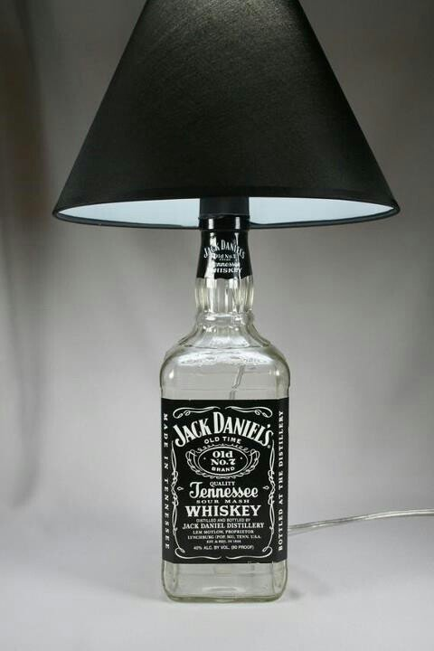 Bottle Lamps Ideas 22 - Get Creative With Wonderful DIY Bottle Lamps Ideas And Projects