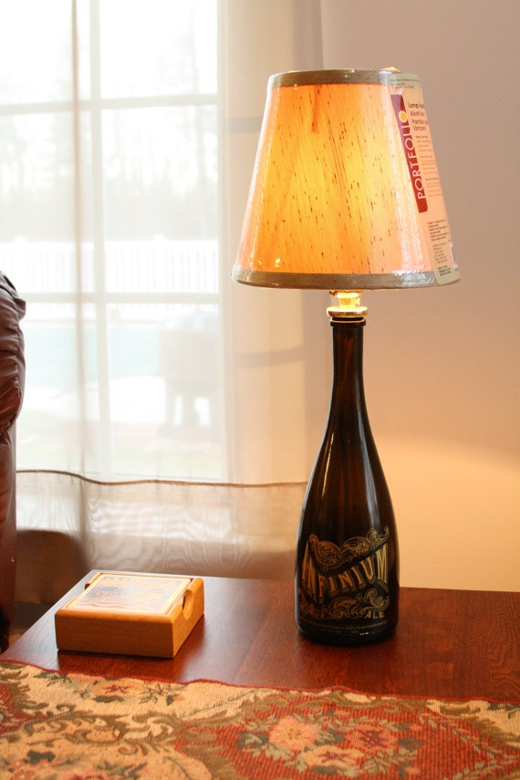 Bottle Lamps Ideas 23 - Get Creative With Wonderful DIY Bottle Lamps Ideas And Projects