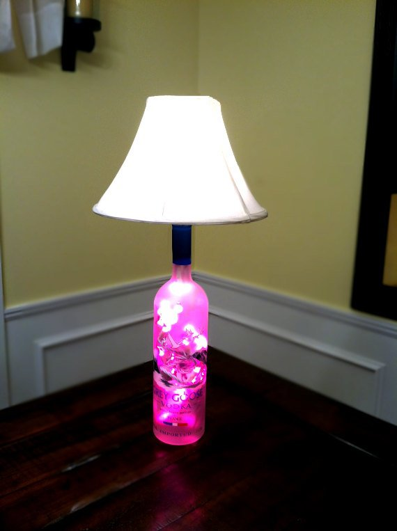 Bottle Lamps Ideas 27 - Get Creative With Wonderful DIY Bottle Lamps Ideas And Projects
