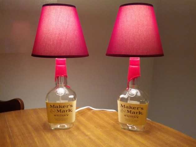 Bottle Lamps Ideas 6 - Get Creative With Wonderful DIY Bottle Lamps Ideas And Projects