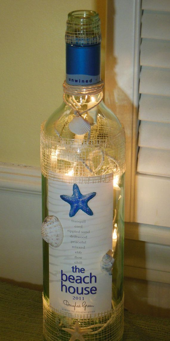 Bottle Lamps Ideas 7 - Get Creative With Wonderful DIY Bottle Lamps Ideas And Projects
