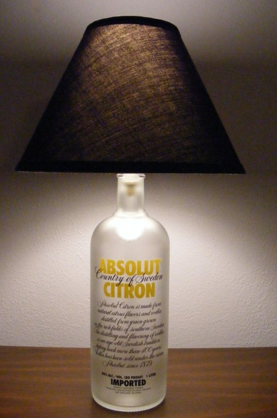 Bottle Lamps Ideas 8 - Get Creative With Wonderful DIY Bottle Lamps Ideas And Projects