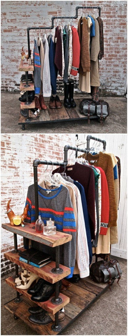 Clothing Storage Solutions For Small Spaces-usefuldiyprojects (37)