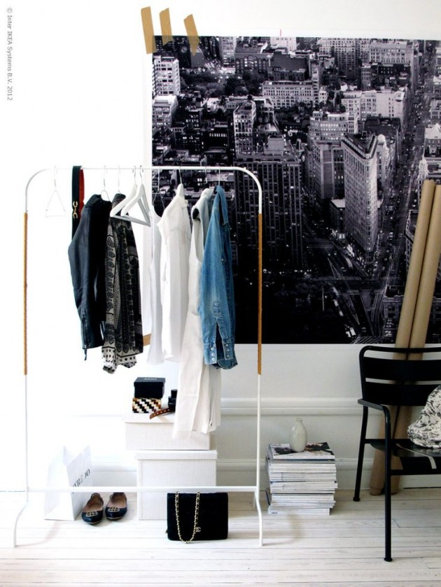 Clothing Storage Solutions For Small Spaces-usefuldiyprojects (39)
