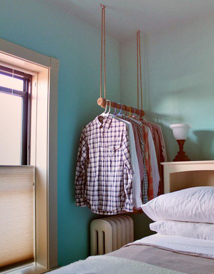 Clothing Storage Solutions For Small Spaces-usefuldiyprojects (41)
