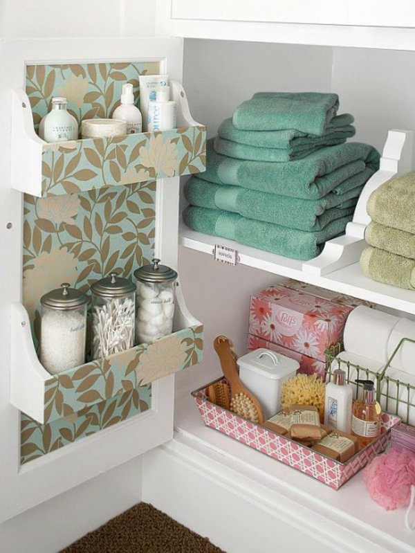 Creative Yet Practical DIY Bathroom Storage Ideas-usefuldiyprojects.com (18)